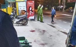 Nam thanh niên bị nhóm người truy sát, chém gục giữa phố ở Nam Định