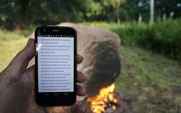 Bí ẩn tảng đá cứ đốt nóng là phát sóng Wifi
