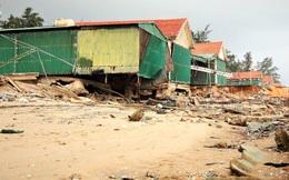 """Bãi biển đẹp trứ danh vùng Bắc Trung Bộ vẫn """"tan nát"""" khi mùa du lịch cận kề"""