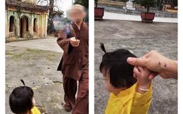 """Sư trụ trì xua đuổi người phụ nữ chụp ảnh nói """"có vô ý vẩy nhang vào tay"""""""