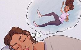 Vì sao chúng ta có cảm giác 'bị rơi xuống vực' khi đang mơ ngủ?