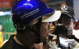 """Bị CSGT ở Sài Gòn xử phạt,  """"ma men"""" văng tục, dọa đi giật đồ vì không có tiền đóng"""