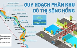 Quy hoạch phân khu đô thị sông Hồng: Hàng loạt cây cầu được xây ở đâu?
