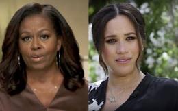 """Cựu Đệ nhất Phu nhân Michelle Obama bất ngờ tỏ rõ thái độ trước bão drama Hoàng gia Anh: """"Tôi không hề ngạc nhiên khi Meghan Markle kể lể"""""""