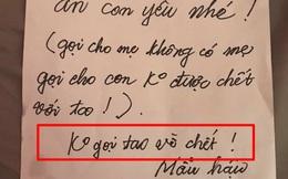 Mẹ về quê, ân cần viết giấy dặn con gái đun cá ăn cơm, riêng dòng chữ cuối khiến tất cả không thể nhịn cười