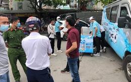 Vụ 9 học sinh đau bụng khi uống nước miễn phí: Công an mời nhóm người phát nước lên làm việc