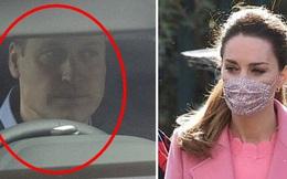 """Hoàng tử William xuất hiện hốc hác, Kate xấu hổ sau màn """"đâm sau lưng"""" của vợ chồng Meghan Markle"""
