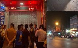 NÓNG: Nghi án nổ mìn tự chế tại tiệm vàng ở Hải Phòng