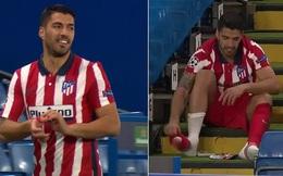 Không giải được 'đại hạn', Suarez thất vọng rời sân