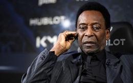 """""""Vua bóng đá"""" Pele đang phải vật lộn với căn  bệnh nguy hiểm có thể dẫn tới tự sát"""