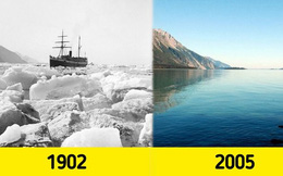 Những bức ảnh chứng minh 'Biến đổi khí hậu' là có thật
