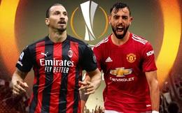 Lịch thi đấu Europa League: 'Tử chiến' AC Milan vs M.U