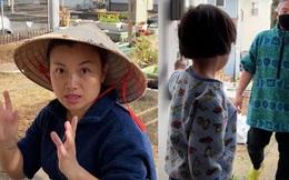 Quỳnh Trần JP bị hàng xóm gây gổ vì chuyện trồng cây bên hàng rào, phản ứng của ông xã chị Quỳnh mới khiến dân tình bất ngờ