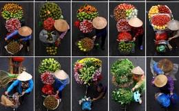 24h qua ảnh: Hình ảnh người bán hàng rong trên đường phố Hà Nội lên báo nước ngoài