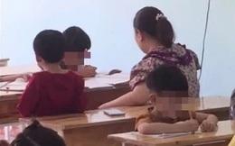 Xôn xao video cô giáo dùng thước liên tiếp đánh học sinh