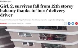 """Báo Anh ca ngợi """"người hùng"""" Nguyễn Ngọc Mạnh cứu bé gái rơi từ tầng 12 chung cư ở Hà Nội"""