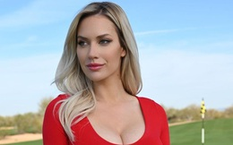 """Nữ golfer quyến rũ nhất thế giới bảo vệ đồng nghiệp bị """"ném đá"""" vì không mặc áo ủng hộ huyền thoại Tiger Woods"""
