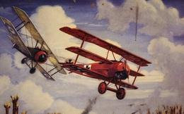 Hình ảnh chiến đấu cơ Nam Tước Đỏ của Đức 'đội mồ' sống dậy: Đây là chiếc máy bay 'đẹp nhất, quyến rũ nhất'