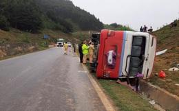 19 hội viên phụ nữ gặp nạn khi xe khách lật trên Quốc lộ 6, một người tử vong tại chỗ