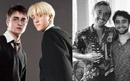 Sốc nặng màn tuột dốc nhan sắc của 2 nam thần Harry Potter - Draco Malfoy: Bên râu ria dừ chát, bên trán hói đến đáng thương