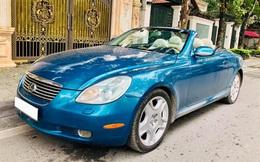 Sau 14 năm, 'xe chơi' một thời Lexus SC 430 vẫn giữ giá đắt ngang VinFast Lux A2.0 bản tiêu chuẩn