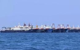 """Hơn 200 tàu cá Trung Quốc xuất hiện tại đá Ba Đầu, Trường Sa, """"bật đèn trắng suốt đêm""""?"""