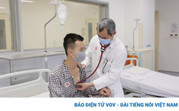 Nam thanh niên bị thủng màng tim do dị vật kim khí bắn vào ngực trái