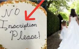 """Đặt bánh cưới với yêu cầu đặc biệt, cô dâu lặng người khi nhận thành phẩm cùng dòng chữ siêu kỳ cục, hóa ra do hiểu lầm """"dở khóc dở cười"""""""