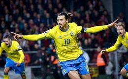 """Zlatan Ibrahimovic nói gì sau 5 năm trở lại khoác áo ĐTQG Thuỵ Điển: """"Sự trở lại của một vị Chúa"""""""