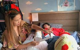 Sức khỏe của Lê Quang sau khi cắt chân phải