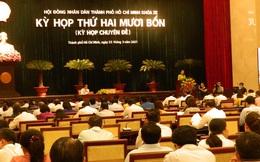 HĐND TPHCM họp bất thường, xem xét công tác nhân sự