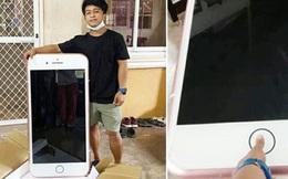 Đặt mua iPhone 7 giá rẻ trên mạng, chàng trai trẻ khóc ròng vì nhận được 'điện thoại' to bằng mặt bàn