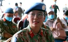 Những 'bóng hồng' quân đội Việt Nam lên đường làm nhiệm vụ quốc tế