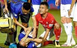 Luật mới của VFF: Hoàng Thịnh có thể bị cấm thi đấu 2 năm vì làm Hùng Dũng gãy chân