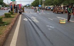 Va chạm với xe khách, 1 người chết, 2 người bị thương nặng