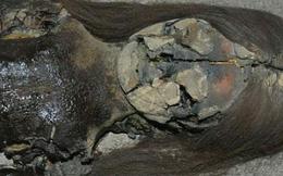Kinh hoàng xác ướp nghìn năm bỗng hóa thành chất sệt màu đen
