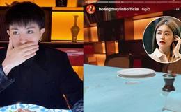 """Hoàng Thuỳ Linh và Gil Lê ngày càng """"bung xoã"""" hint, 1 buổi tối tung 7749 ảnh hẹn hò sang chảnh bên nhau"""