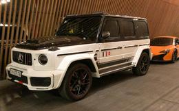 Nhiều siêu xe, xe sang hội ngộ tại tiệc thôi nôi cháu ngoại Minh 'nhựa', BMW X7 của Trấn Thành cũng xuất hiện