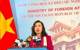 Việt Nam yêu cầu Trung Quốc chấm dứt vi phạm ở đá Ba Đầu
