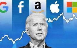 """""""Cuộc đấu đầu tiên"""" giữa Tổng thống Joe Biden và Bộ Tứ Big Tech"""