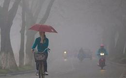 Hà Nội có mưa phùn và sương mù, trời lạnh