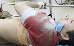 Côn đồ liều lĩnh chặn xe, đâm chém 2 vợ chồng ở Đồng Nai