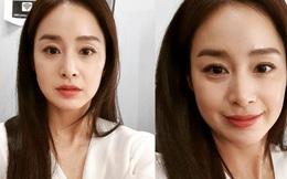 Cả Kbiz chắc mỗi Kim Tae Hee zoom mặt không thèm chỉnh, lộ cả tá vết lão hoá mà Knet vẫn khen lên trời thế này