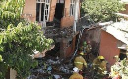 Chiến đấu cơ rơi xuống nhà dân ở Bolivia, 2 người thương vong