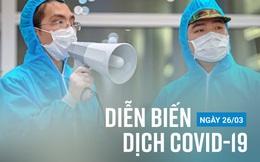 Thêm 5 ca mắc mới trong chiều nay; Hải Phòng chuyển 2 bệnh nhân Covid-19 lên Hà Nội