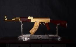 """4 khẩu súng đắt nhất thế giới, AK-47 vàng chỉ là hàng """"tép riu"""", vị trí """"trùm sò"""" mới thực sự bất ngờ"""