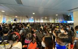 Sân bay Tân Sơn Nhất ùn tắc, Vietnam Airlines khuyến cáo hành khách đến sớm