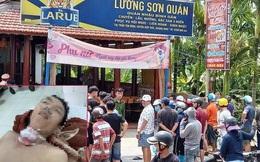 Thông tin mới nhất vụ án mạng kinh hoàng do mâu thuẫn tình cảm trong quán nhậu Lương Sơn