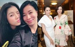 """Lý Nhã Kỳ tiết lộ mối quan hệ hiện tại với """"đệ nhất mỹ nhân TVB"""" Xa Thi Mạn"""