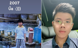 Thiếu gia độc thân nhà Sài Gòn Square khoe ảnh 'khi xưa ta bé' cách đây 14 năm, ngoại hình thay đổi ngoạn mục!